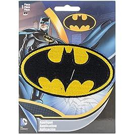 DC Comics Patch-Batman Logo 4″X2.25″