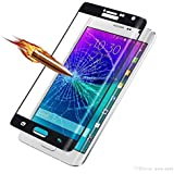 Helix 5D 9HFull 9H Covered Edges Tempered Glass for Samsung Galaxy Note 4 Edge SM-N915G N915 Black