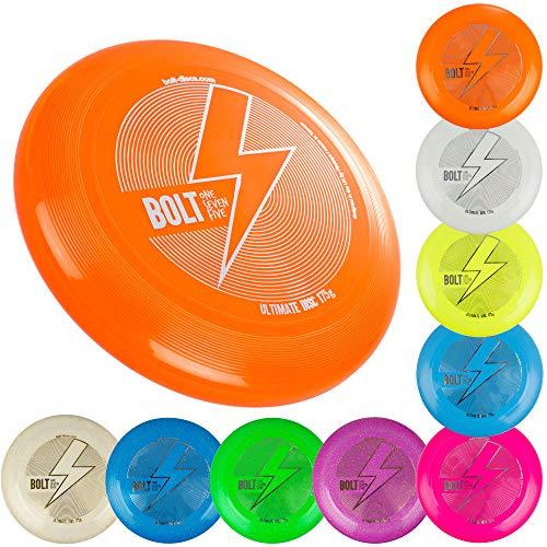 Unbekannt Bolt OneSevenFive Ultimate Frisbee Flying Disc! Fünf UV-Farben verfügbar! (Blau)