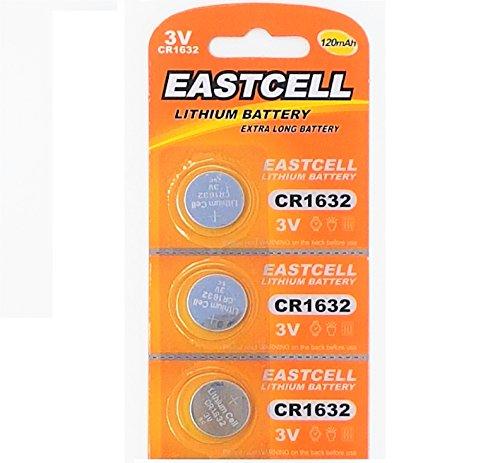 m Knopfzelle 120 mAh (1 Blistercard a 3 Batterien) EINWEG Markenware EASTCELL ()
