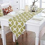 chemins de table, tissu moderne vert style américain table basse drapeau drapeau meuble TV chaussures table à manger drapeau drapeau -32 * 160 cm