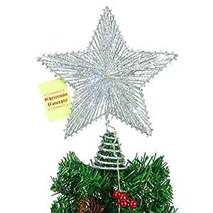 Ventiladores De Brillo Decoración de Navidad Paquete de 4 Colores variación de 20cm a 40cm