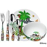 WMF Disney El Libro de la Selva - Vajilla para niños 6 piezas, incluye plato, cuenco y cubertería...