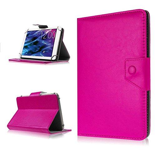 na-commerce Tablet Hülle für Medion Lifetab P8514 P8314 P8312 S8312 Tasche Schutzhülle Case, Farben:Pink