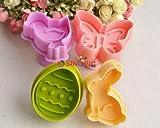 Ko. comni Gummy Cookie Cookie Kuchen Form 4Stück