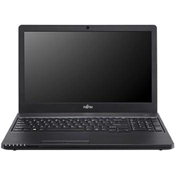 Fujitsu LIFEBOOK A555 VFY:A5550M732ODE 39,6 cm (15,6 Zoll) Laptop (Intel Core i3 5005U 2GHz, 8GB RAM, 256GB SSD, Win 10 Home) schwarz