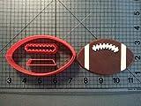 Petsdelite® Sport-Serie Ausstecher Set Fußball Basketball Beach Ball Bowling Pin Fondant Cupcake Top nach Maß 3D gedruckt Kuchenform: Fußball 2 Zoll