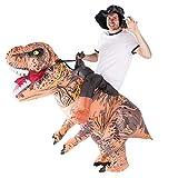 Bodysocks® Aufblasbares Deluxe Dinosaurier Kostüm für Erwachsene