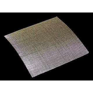 0.57mm Hole Size - Stainless Steel 304L - Cut Size: 15cmx15cm - 30 Mesh Count - Woven Wire Mesh by Inoxia