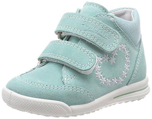 Superfit Baby Mädchen Avrile Mini Sneaker, Grün (Mint Kombi), 23 EU