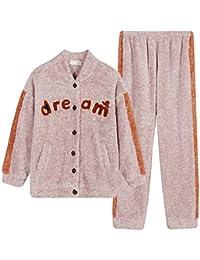FAH Pyjamas/Mode Paar Pyjamas/Korallen Fleece/Herbst Und Winter/Warm Dick/Flanell / Home Service/Männer / Frauen/Winteranzug