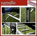 Trampolin in verschiedenen Grössen, inkl. Leiter, Regenschutz, Sicherheitsnetz innenliegend, Gartentrampolin von vanvilla