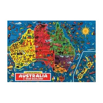 Map Of Australia Jigsaw Puzzle.Australia Map Jigsaw Puzzle By James Hamilton Grovely