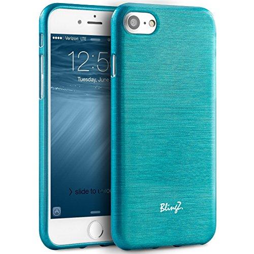 coque iphone 7 bleu silicone