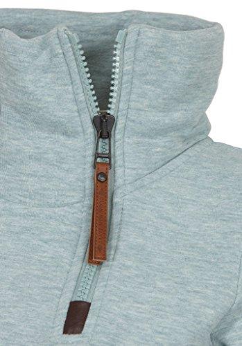 Naketano Female Zipped Jacket Hamza Bau ma IV Wiederkäuer Grün Melange