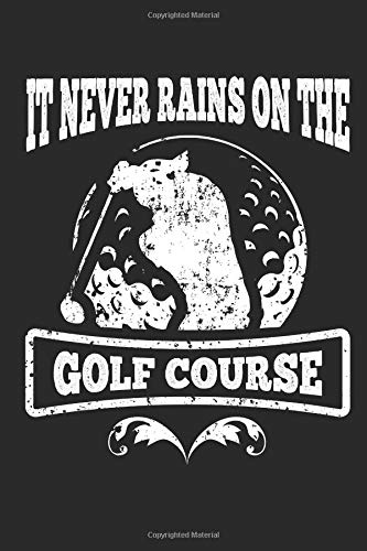 Golfers Notebook: 140 Blank Lined Pages Softcover Notes Journal, College Ruled Composition Notebook, 6x9 Funny Golfers Quote 4 Design por Lark Designs