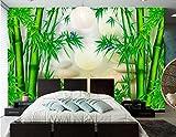Yosot Benutzerdefiniertes Hintergrundbild Bambus 3D-Chinesischen Tapeten Wandbilder Wohnzimmer Fernseher Sofa Hintergrund Schlafzimmer Tapete Für Wände 3D-140Cmx100Cm