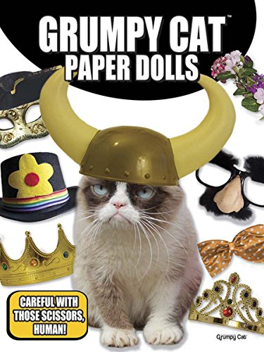 Grumpy Cat Paper Dolls (Goofy Outfit)