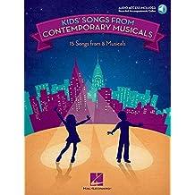 Kids' Songs From Contemporary Musicals Voice & Piano Book/Audio Online: Noten, Songbook für Klavier, Gesang