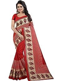 J B Fashion Sarees Women's Multicolor Bhagalpuri Art Silk Saree