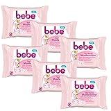 bebe 5in1 Sanfte Mizellentücher - Abschminktücher für alle Hauttypen - 6 x 25...
