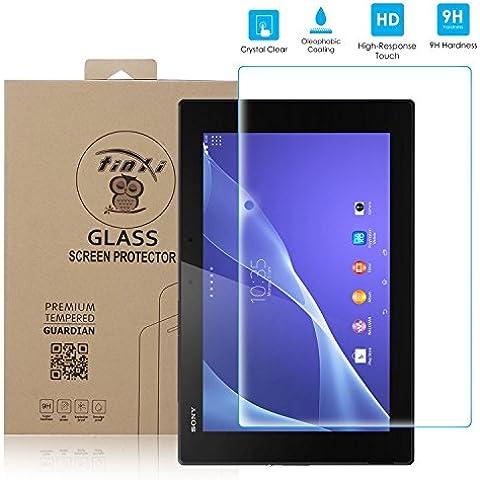 tinxi® Protector de vidrio templado de vidrio templado para Sony Xperia Tablet Z2 prima Protector de pantalla Protector de pantalla ultra