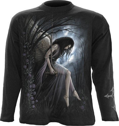 Angel Lament longsleeve black - XL - Spiral