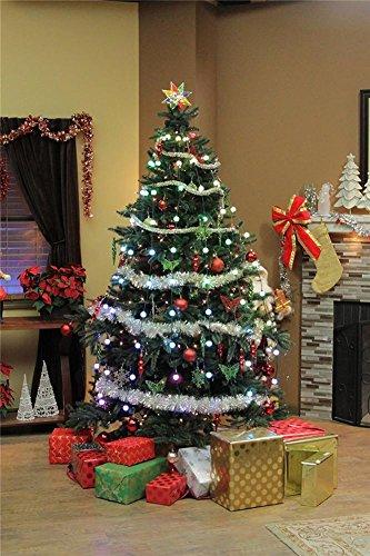 W-ONLY YOU-J 64 leuchtender Weihnachtsbaum dekorative Suspensionen LED Baum-Licht-helle Farbe im Freien feenhafte Lichter - (Blitzlicht Led Kürbis)