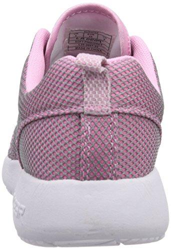 LA Gear Sunrise, Baskets mode homme Rose - Pink (Soft Pink-Grey 24)