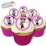 24 Wunderschöne essbare Kuchendekorationen: Minnie Mouse