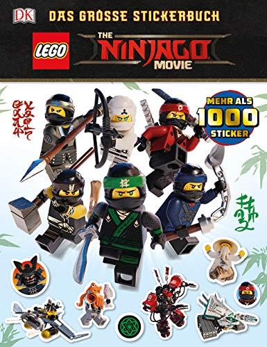 THE LEGO® NINJAGO® MOVIE Das große Stickerbuch