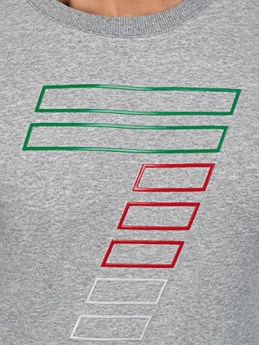 BOLF – Sweat-shirt – Manches longues – Homme – 1A1 Motif Gris
