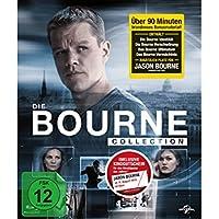 The Complete Jason Bourne Movie 1 - 4 DVD Collection: Bourne Identity / Bourne Supremacy / Bourne Ultimatum / Bourne Legacy by Matt Damon