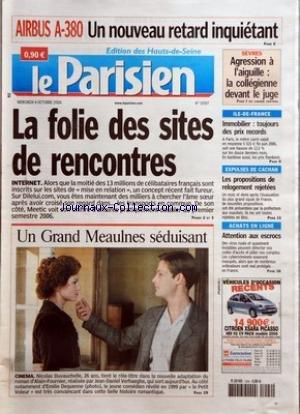 PARISIEN (LE) [No 19307] du 04/10/2006 -...