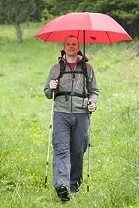 Euroschirm - Swing Handsfree - Parapluie de trekking - Bleu marine