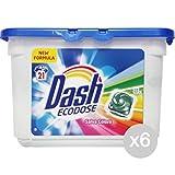 Set 6 DASH Lav. 21 Eco Save-Color Dose Waschmittel Waschmaschine Und