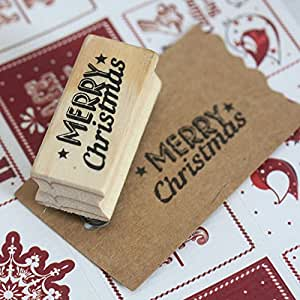 East of india stempel merry christmas k che for Amazon stempel