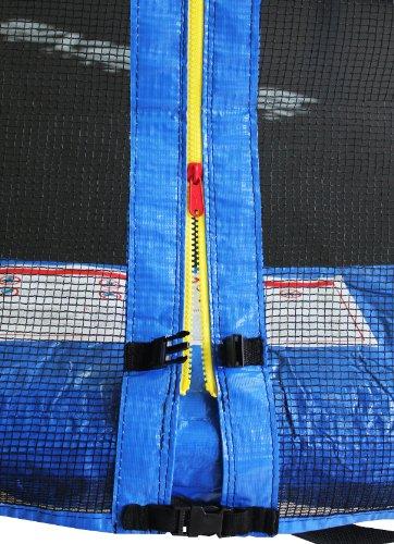 Imagen 1 de SixBros. Sport – XXL 4,00m diám. Professional Trampolín de jardín – T400 13FT | escalera | red de seguridad | lluvia cobertura | Modelo 2013