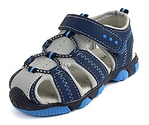 Eagsouni® Boys Athletic Casual Sandal Summer Closed Toe Sandal Kids' Outdoor Non-slip Beach sandals
