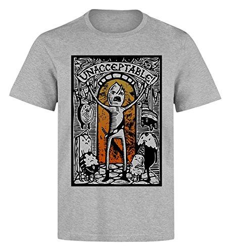 HappyPanda Unacceptable! Vintage Lemongrab Artwork Men's T-Shirt Large