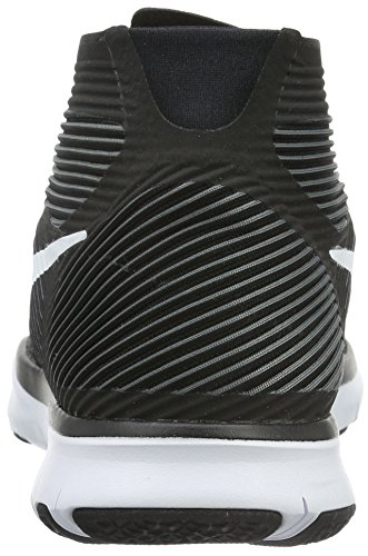 Nike Free Train Instinct, Chaussures de Fitness Homme Noir (Black/White/Dark Grey)