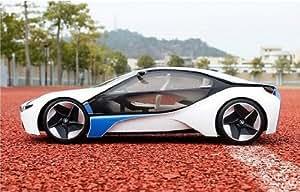XINTE 01:14 RC Speed Model Car avec télécommande pleine fonction 27Mhz Blanc