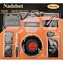 coser. Set 100 Piezas Máquina de coser agujas para Jeans y universal, Stick zurcir