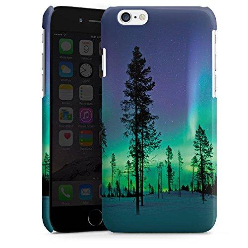 Apple iPhone 4 Housse Étui Silicone Coque Protection Arbres Ciel Mystique Cas Premium brillant