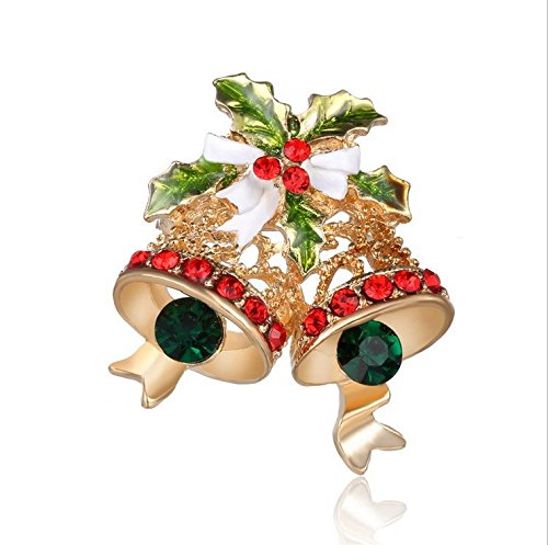 MaMaison007 Natale Joker Pin Europa e campane d'oro spilla varietà Natale regalo idee-Lega Pin - Campana Skateboard