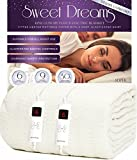 Sweet Dreams Electric Blanket King Size with Dual Controls - 152x203