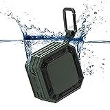 Bluetooth Lautsprecher MixcMax mobiler Lautsprecher mit 20-Stunden-Akkulaufzeit und überraschend Kraftvollem Sound Tragbarer Bluetooth Lautsprecher Wasserdicht mit Freisprechfunktion