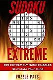 SUDOKU EXTREME: 100 Extremely Hard Puzzles