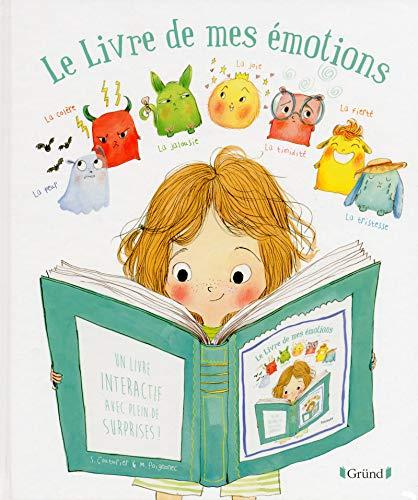Le livre de mes émotions : Un livre interactif avec plein de surprises ! (Coin des histoires)