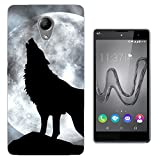 003273 - Howling wolf full moon photo Design Wiko Robby /